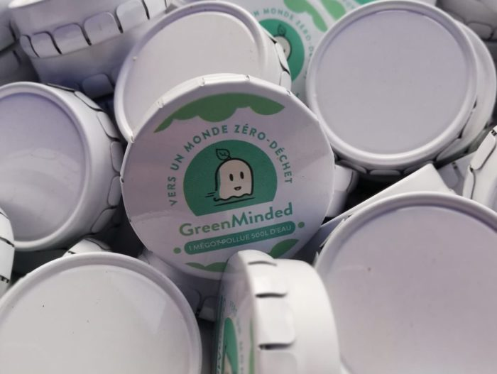 Cendrier de poche GreenMinded 0