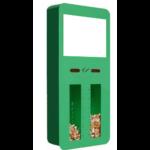 cendrier sondage premium vert Collecte recyclage mégots de cigarettes - GreenMinded