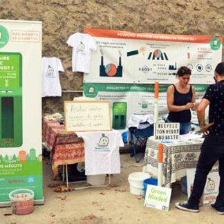 stand-sensibilisation-mégots-greenminded