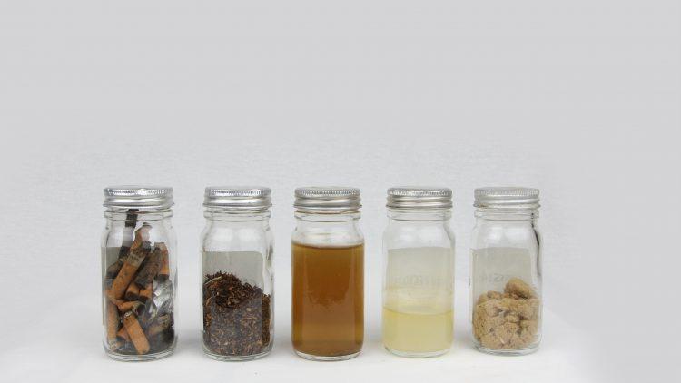 dépollution des mégots par succession de bains d'eau