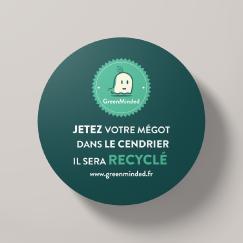 Sticker-Cendrier---Produit-1 Collecte recyclage mégots de cigarettes - GreenMinded