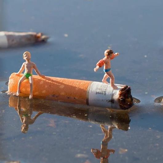 megots de cigarettes