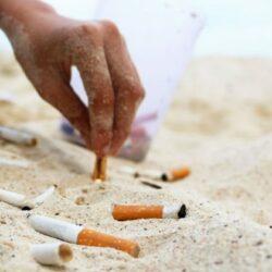mégots-sable mégots pollution environnement chiffres