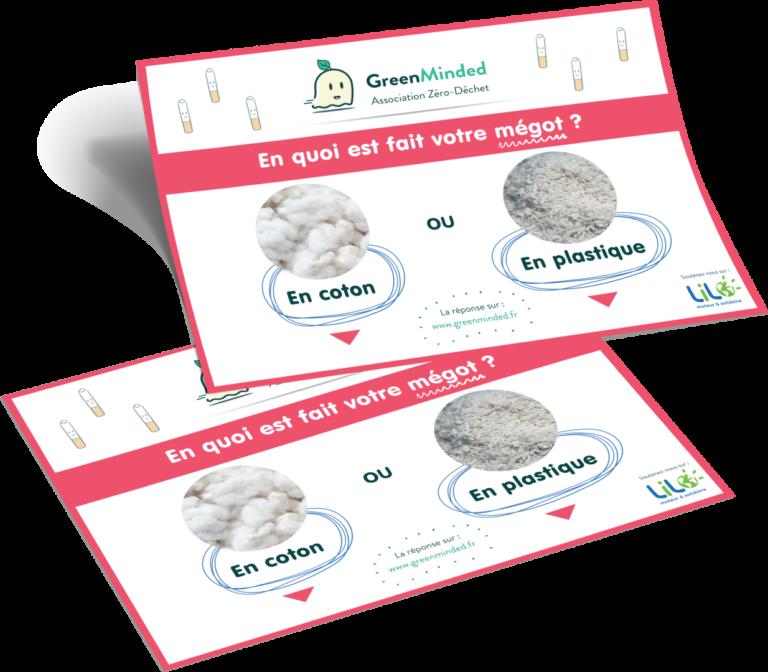 [GREENMINDED] Sticker de Vote Standard - Cendrier sondage standard