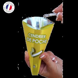 cendrier-de-poche-carton Collecte recyclage mégots de cigarettes - GreenMinded