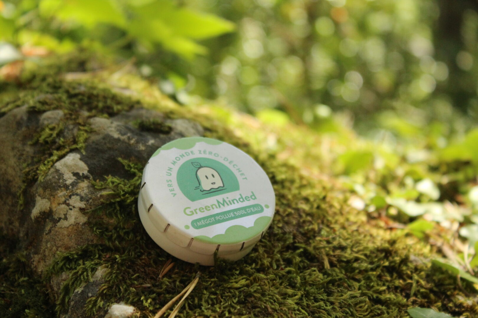 CENDRIER DE POCHE GREENMINDED Collecte recyclage mégots de cigarettes - GreenMinded