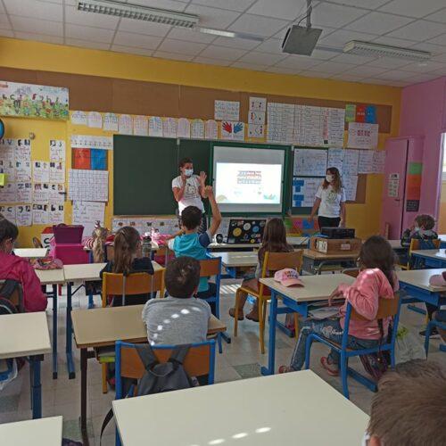 Les GreenMimines Sensibilisation scolaire Environnement - écoles