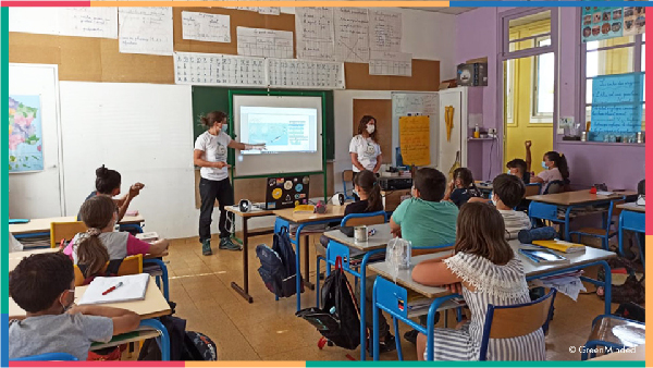 sensibilisation scolaire actions educatives zero dechet biodiversite greenminded